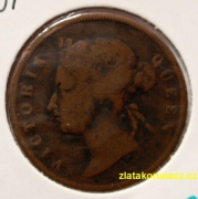 Malaysie-Straits Settlements -  1 cent 1873