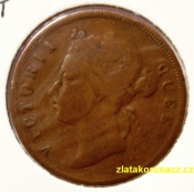 Malaysie-Straits Settlements -  1 cent 1876