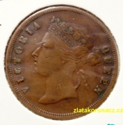 Malaysie-Straits Settlements -  1 cent 1887