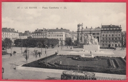 Le Havre - Place Gambetta -LL