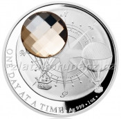 Crystal Coin - 2 NZD - One day at a Time - Honey