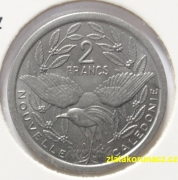 New Caledonia - 2 francs 1977